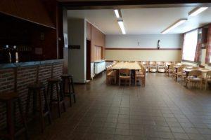 Parochiezaal Horendonk - Interieur zicht op kleine zaal